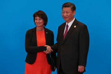 Doris Leuthard Belt and Road Forum for International Cooperation - Day Two