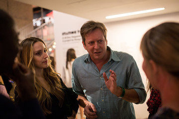 Doug Aitken Visitors Attend the 'Station to Station, A 30 Day Happening' Opening Party