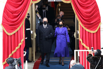 Doug Emhoff Joe Biden Sworn In As 46th President Of The United States At U.S. Capitol Inauguration Ceremony