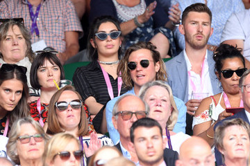 Dougie Poynter The evian Live Young Suite On The Opening Day Of The Championships At Wimbledon 2017