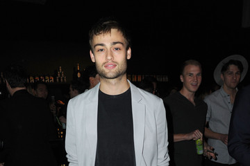 Douglas Booth Models Walk the Topman Design Show in London