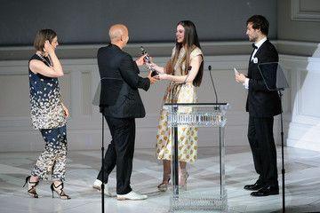 Douglas Booth Hailee Steinfeld The 2013 CFDA Fashion Awards in NYC