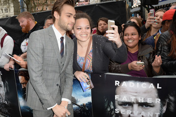 Douglas Booth 'Noah' Premieres in London