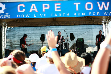 Neil Pauw Dow Live Earth Run for Water - Cape Town