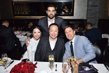 Dr. Gabriel Chiu Haute Living along with Dr. Gabriel Chiu & Christine Chiu Host Pre-Oscars Dinner for David O. Russell with Perrier-Jouet