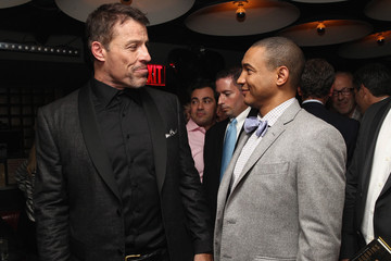 Dr. Lee Gause DuJour Magazine's Jason Binn, And Invicta Watches Welcome Tony Robbins To New York