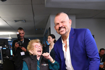 Dr. Ruth Westheimer Annual Charity Day Hosted By Cantor Fitzgerald, BGC, And GFI - Cantor Fitzgerald Office - Inside