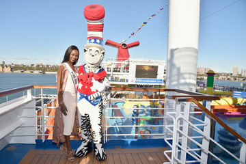 Dr. Seuss Carnival Vista U.S. Debut With Carrie Underwood And Godmother Miss USA Celebrating Honor.Family.Fun Campaign And Operation Homefront