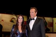 Kyla Weber and Vince Vaughn walk the red carpet ahead of the 'Dragged Across Concrete' screening during the 75th Venice Film Festival at Sala Grande on September 3, 2018 in Venice, Italy.