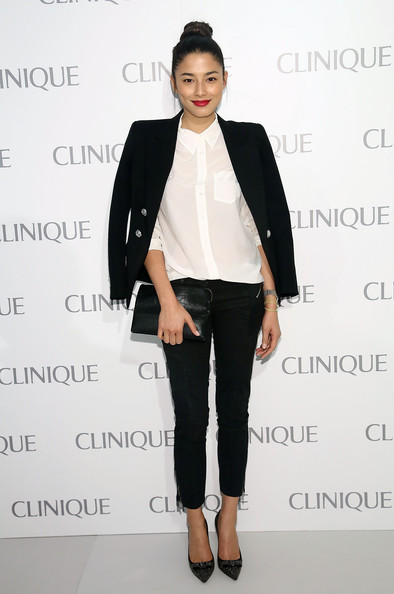 Jessica Gomes attends Dramatically Different Party Hosted By Clinque at 620 Loft & Garden on June 18, 2013 in New York City.