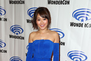 """Karen Fukuhara attends DreamWorks """"She-Ra and the Princesses of Power"""" ˆat WonderCon at Anaheim Convention Center on March 30, 2019 in Anaheim, California."""