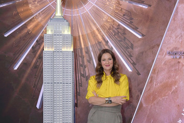 Drew Barrymore The Drew Barrymore Show At The Empire State Building