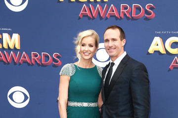 Drew Brees 53rd Academy Of Country Music Awards - Arrivals