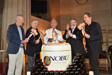 Drew Nieporent Nobu Downtown Sake Ceremony