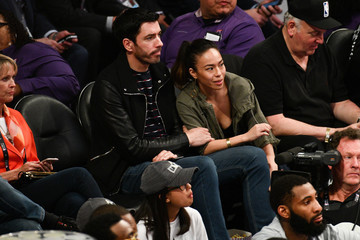 Drew Scott Celebrities At The 67th NBA All-Star Game: Team LeBron Vs. Team Stephen