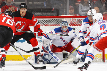 Drew Stafford New York Rangers v New Jersey Devils