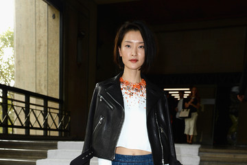 Du Juan PFW: Front Row at Miu Miu