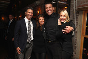 Darren Lisiten, Heidi Lisiter, Tony Robbins and Sage Robbins attend DuJour Magazine's Jason Binn and Invicta Watches in the welcoming of Tony Robbins to New York at Catch NYC on November 17, 2014 in New York City.