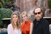 (L-R)Christina Sands, Ivanka Trump Fine Jewelry Founder Ivanka Trump and Larry Sands attend 'An Evening of Glamour' at the Couture Jewelry Show party presented by GILT at the Tryst Nightclub on May 29, 2014 in Las Vegas, Nevada.