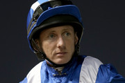 Paul Hanagan during the first Longines Carnival Meeting at the Meydan Racecourse on January 9, 2014 in Dubai, United Arab Emirates.