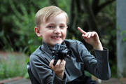Josh Evans attends a photography workshop for Action for Children, run by the Royal Photographic Society with Catherine, Duchess of Cambridge at Warren Park on June 25, 2019 in Kingston, England.