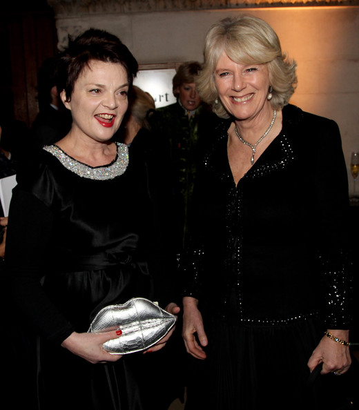 The Duchess Of Cornwall Attends Anna Valentine Charity Show