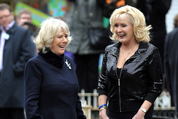 Beverley Callard The Duchess Of Cornwall - Coronation Street Visit