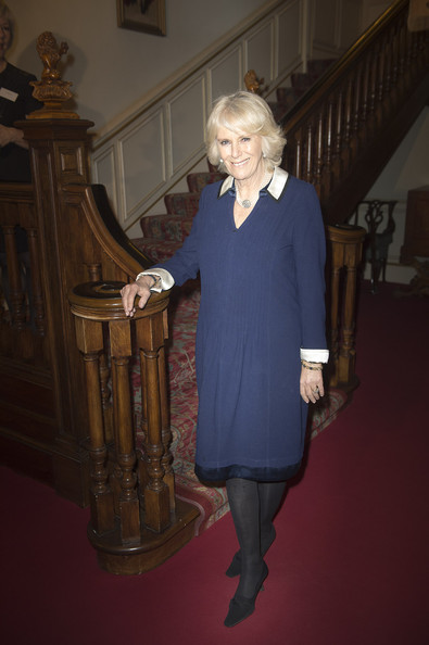 Camilla, Duchess of Cornwall attends the Women of the World Festival at Clarence House on February 27, 2014 in London, England.