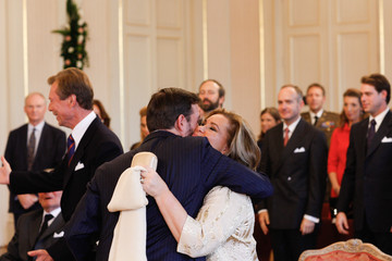 Duchess Maria Teresa of Luxembourg The Wedding Of Prince Guillaume Of Luxembourg & Stephanie de Lannoy - Civil Ceremony