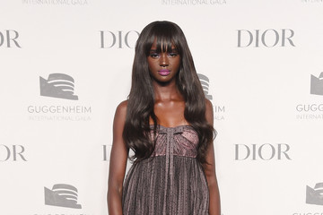 Duckie Thot 2018 Guggenheim International Gala Pre-Party, Made Possible By Dior