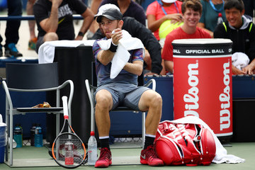 Dudi Sela 2017 US Open Tennis Championships - Day 1