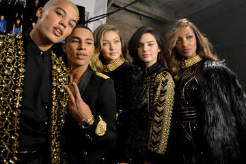 Dudley O'Shaughnessy BALMAIN X H&M Collection Launch - Backstage