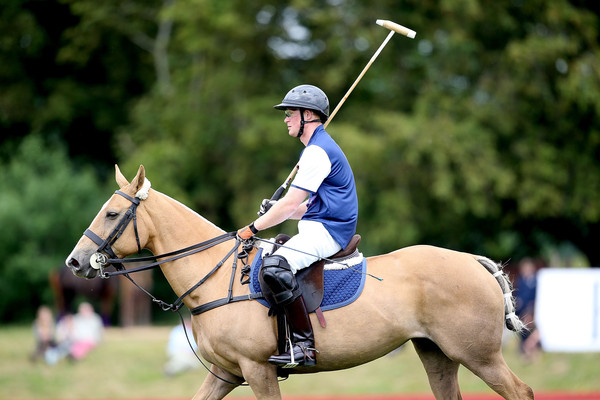 The Duke of Cambridge and Prince Harry Play in Gigaset Charity Polo Match