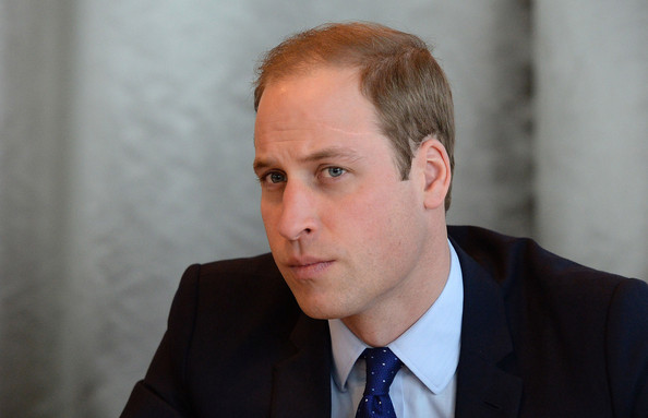 Prince William, Duke of Cambridge is seen as he visits Birmingham Library on November 29, 2013 in Birmingham, England.