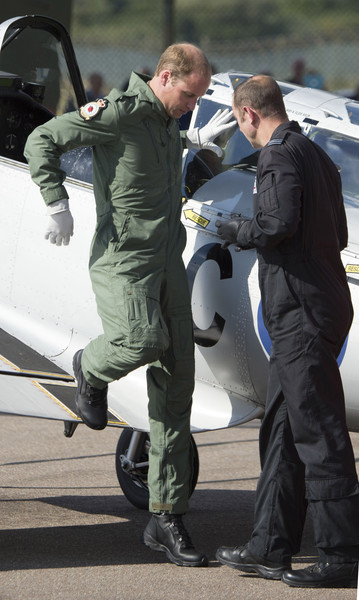 Duke of Cambridge Visits RAF Coningsby