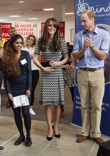 The Duke & Duchess of Cambridge Mark World Mental Health Day