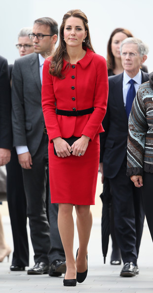 Catherine, Duchess of Cambridge visits Christchurch City Council Buildings on April 14, 2014 in Christchurch, New Zealand. The Duke and Duchess of Cambridge are on a three-week tour of Australia and New Zealand, the first official trip overseas with their son, Prince George of Cambridge.