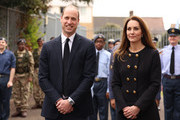 The Duke And Duchess Of Cambridge Visit The Air Cadets At 282 East Ham Squadron