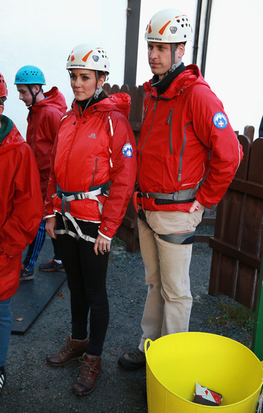 The Duke and Duchess of Cambridge Visit North Wales