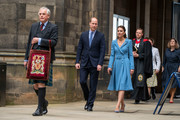 Prince William, Duke of Cambridge and Catherine, Duchess of Cambridge attend the closing ceremony of the General Assembly on May 27, 2021 in Edinburgh, Scotland.