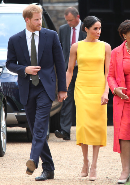 The Duke And Duchess Of Sussex Attend 'Your Commonwealth' Youth Challenge Reception