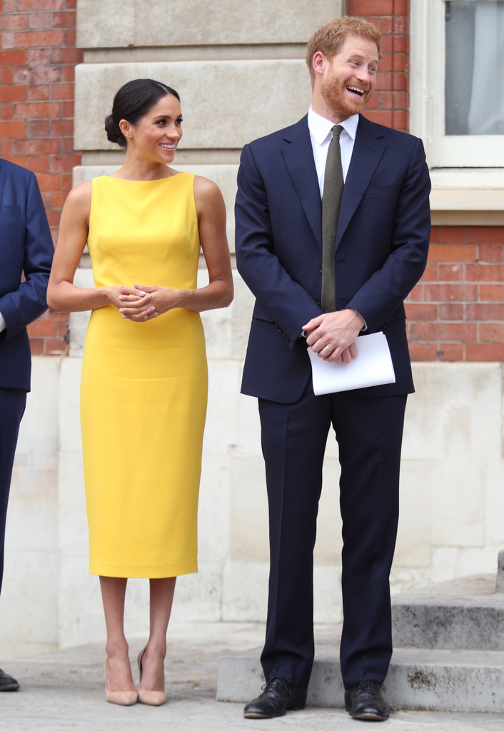 The Duke And Duchess Of Sussex Attend Your Commonwealth Youth Challenge Reception Zimbio