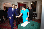 Prince Harry, Duke of Sussex and Meghan, Duchess of Sussex attend the annual Endeavour Fund Awards at Mansion House on March 5, 2020 in London, England. Their Royal Highnesses will celebrate the achievements of wounded, injured and sick servicemen and women who have taken part in remarkable sporting and adventure challenges over the last year.