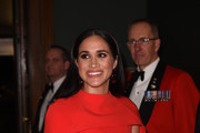 Meghan, Duchess of Sussex arrives at the Royal Albert Hall on March 7, 2020 in London, England.