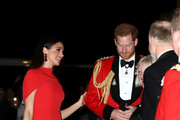 Prince Harry, Duke of Sussex and Meghan, Duchess of Sussex arrive to attend the Mountbatten Music Festival at Royal Albert Hall on March 7, 2020 in London, England.