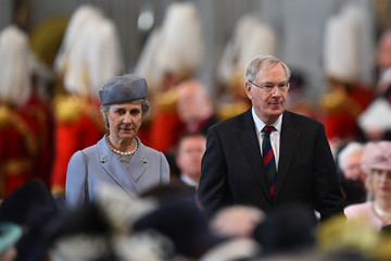 Duke Of Gloucester National Service Of Thanksgiving To Celebrate The Queen's 90th Birthday