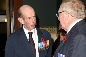 Duke of Kent The Queen And Members Of The Royal Family Attend The Royal British Legion Festival Of Remembrance