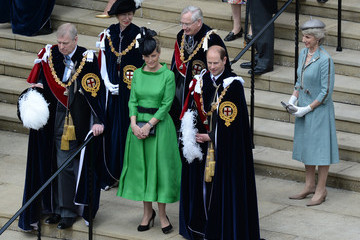 Duke of York Earl Of Wessex Service of the Order of the Garter