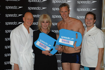 Duncan Goodhew The House of Lords v House of Commons Speedo Charity Swim