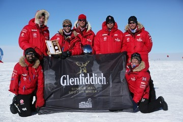 Duncan Slater The Walking with the Wounded South Pole Allied Challenge